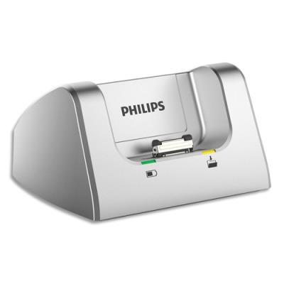 Station d'accueil PHILIPS ACC8120/00 pour enregistreurs numériques DPM6000 et DPM7200 (photo)