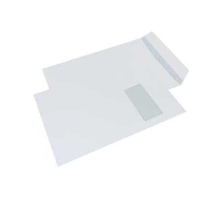 Enveloppe La Couronne format C4 - 324 x 229 mm - avec fenêtre - 90 g/m² fermeture autocollante avec bande protectrice - blanc - paquet 250 unités