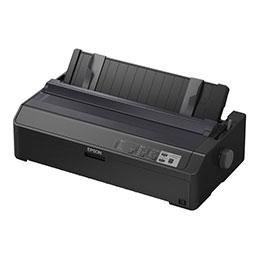 Epson FX 2190II - Imprimante - monochrome - matricielle - Rouleau (21,6 cm), 406,4 mm (largeur), 420 x 364 mm - 240 x 144 dpi - 9 pin - jusqu'à 738 car/sec - parallèle, USB 2.0 (photo)