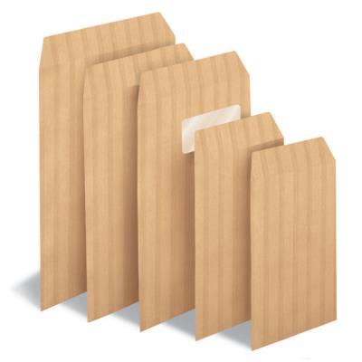 Pochettte kraft La Couronne - 280 x 365 mm - 90 g/m² fermeture autocollante - kraft blond - paquet 250 unités