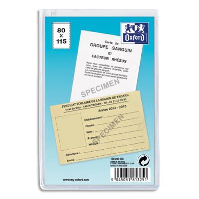 Etuis 2 faces multi-usages ELBA - 8,5 x 13 cm - en PVC 30/100e