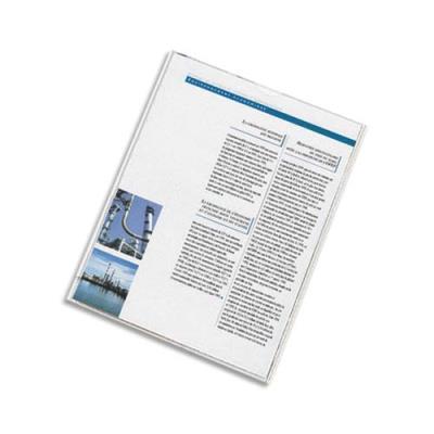 Etuis 2 faces carte d'identité ELBA - 8 x 13 cm - en PVC 15/100e
