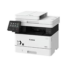 Canon i-SENSYS MF421dw - Imprimante multifonctions - Noir et blanc - laser - A4 (210 x 297 mm), Legal (216 x 356 mm) (original) - A4/Legal (support) - jusqu'à 38 ppm (copie) - jusqu'à 38 ppm (impression) - 350 feuilles - USB 2.0, Gigabit LAN, Wi-Fi(n) (photo)