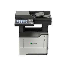 Lexmark MX622adhe - Imprimante multifonctions - Noir et blanc - laser - 215.9 x 355.6 mm (original) - A4/Legal (support) - jusqu'à 47 ppm (copie) - jusqu'à 47 ppm (impression) - 650 feuilles - 33.6 Kbits/s - USB 2.0, Gigabit LAN, hôte USB 2.0 (photo)