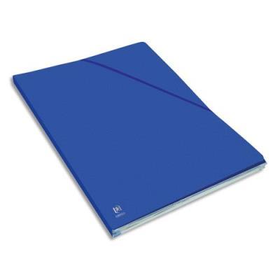 Chemise Elba Eurofolio Alpina - carte lustrée 5/10e - dos 1,5 cm - bleu gitane