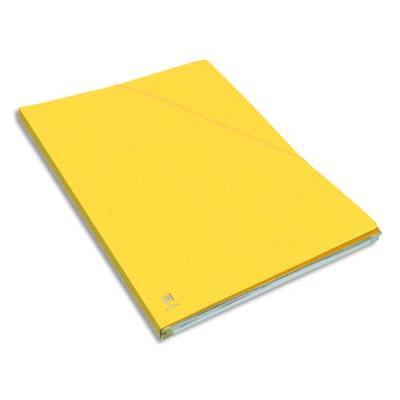 Chemise Elba Eurofolio Alpina - carte lustrée 5/10e - dos 1,5 cm - jaune