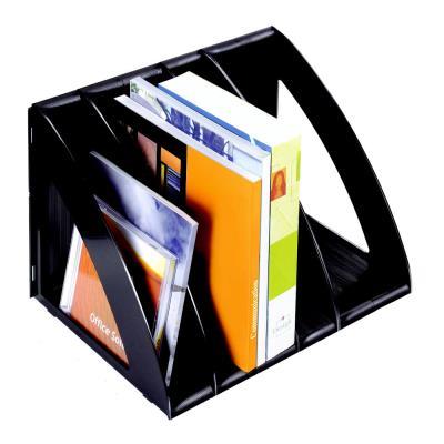 Porte-revues/Trieur vertical Confort 675 - noir