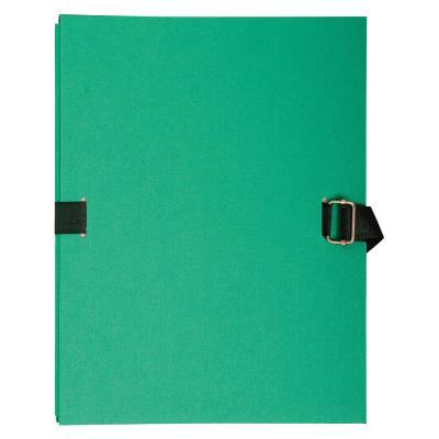 Chemise extensible à rabat Exacompta - coloris vert