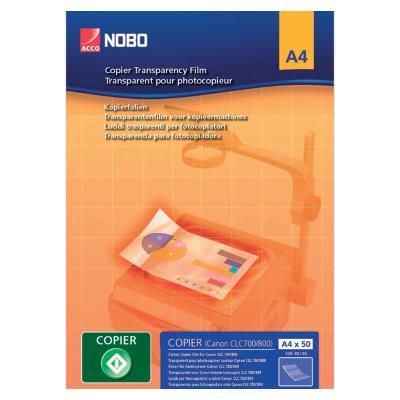 Transparents Nobo pour copieur - paquet 100 feuilles