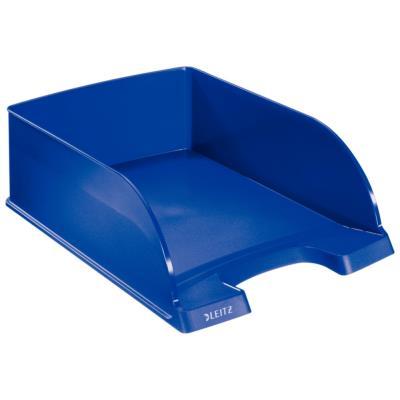 Corbeille à courrier Jumbo Plus - coloris bleu - 25,5x36x10 cm