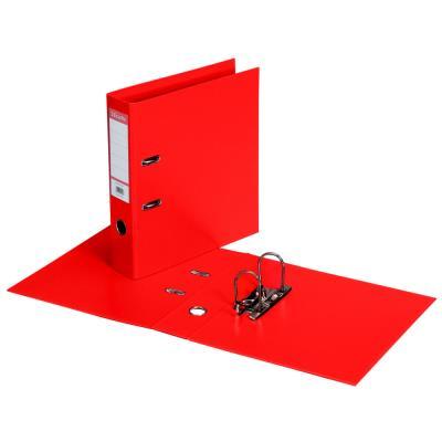 Classeur à levier Esselte - dos de 7,5 cm - plastifié intérieur et extérieur - rouge