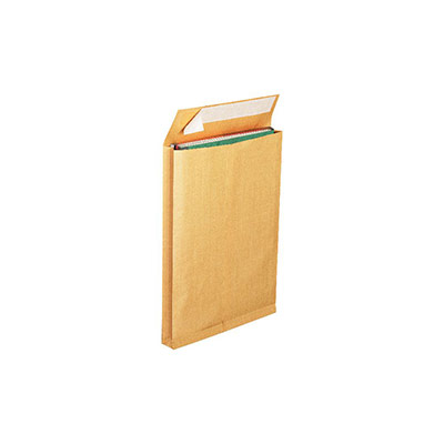 Enveloppe pour catalogue La Couronne - kraft - format international C4 - 50 x 229 x 324 mm - 130 g/m² fermeture autocollante avec bande protectrice - brun - paquet 125 unités
