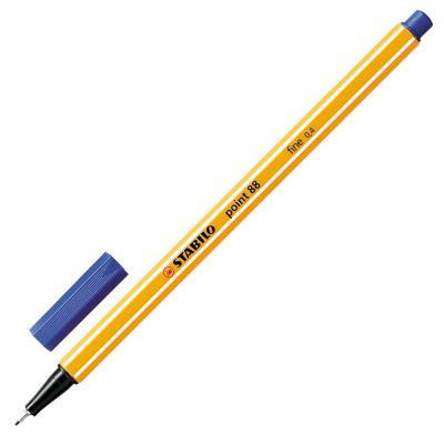 Stylo feutre Stabilo Point 88 - pointe fine - bleu - 88/41
