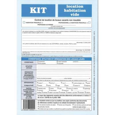 Kit location habitation vide-720 Weber Diffusion (photo)
