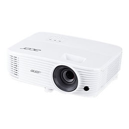 Acer P1350WB - Projecteur DLP - portable - 3D - 3700 lumens - WXGA (1280 x 800) - 16:10 - 720p - LAN (photo)