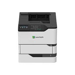 Lexmark MS826de - Imprimante - Noir et blanc - Recto-verso- laser - A4/Legal - 1200 x 1200 ppp - jusqu'à 66 ppm - capacité : 650 feuilles - USB 2.0, Gigabit LAN, hôte USB 2.0