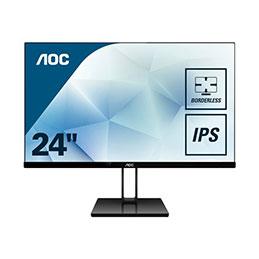 AOC 24V2Q - Écran LED - 23.8