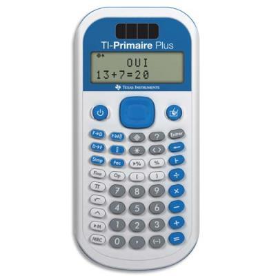 Calculatrice primaire/collège Texas Instruments TI Primaire Plus (photo)