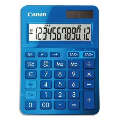 Calculatrice de bureau Canon LS-123K 12 chiffres - bleu (photo)
