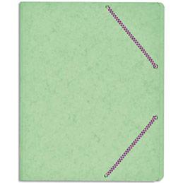 Trieur à élastique - carte lustrée 5/10e - coloris assortis pastels et vifs