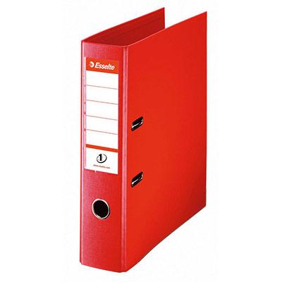 Classeur à levier N°1 POWER - polypropylène - dos 75 mm - coloris rouge