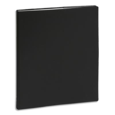 Agenda 2020 semainier Exacompta Horizon 22 - 1 semaine sur 2 pages - 18,5 x 22,5 cm - janvier à janvier - noir (photo)