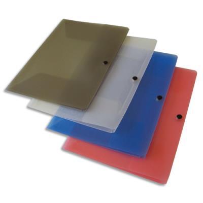 Chemise 3 rabats à pression 5 Etoiles - polypropylène 4/10e - coloris assortis (photo)
