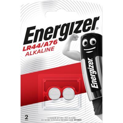 Pile bouton Energizer A76 - LR44 - blister de 2 piles