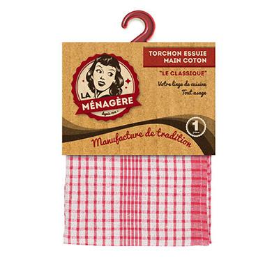 Torchon essuie-main coton