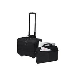 Dicota Eco Multi Roller SELECT - Sac à dos/chariot pour ordinateur portable - 17.3'' - noir (photo)