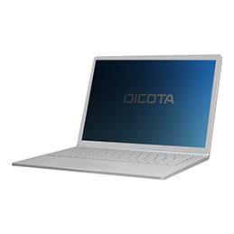 DICOTA - Filtre de confidentialité pour ordinateur portable - noir (photo)