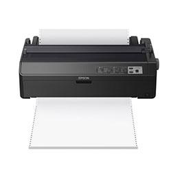 Epson LQ 2090II - Imprimante - monochrome - matricielle - Rouleau (21,6 cm), 406,4 mm (largeur), 420 x 364 mm - 360 x 180 dpi - 24 pin - jusqu'à 584 car/sec - parallèle, USB 2.0 (photo)