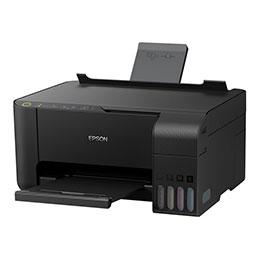 Epson EcoTank ET-2710 - Imprimante multifonctions - couleur - jet d'encre - refillable - A4/Legal (support) - jusqu'à 10 ppm (impression) - 100 feuilles - USB, Wi-Fi - noir (photo)