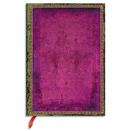 Carnet Paperblanks - reliure classique à l'ancienne Byzance - 18 x 23 cm - 144 pages - ligné