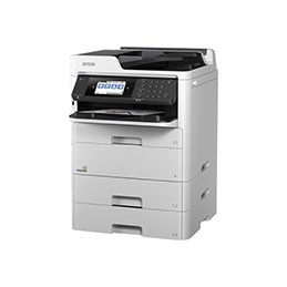 Epson WorkForce Pro WF-C579RD2TWF - Imprimante multifonctions - couleur - jet d'encre - Legal (216 x 356 mm) (original) - A4/Legal (support) - jusqu'à 22 ppm (copie) - jusqu'à 34 ppm (impression) - 1330 feuilles - 33.6 Kbits/s - USB 2.0, Gigabit LAN, Bluetooth, Wi-Fi(n), hôte USB 2.0 (photo)