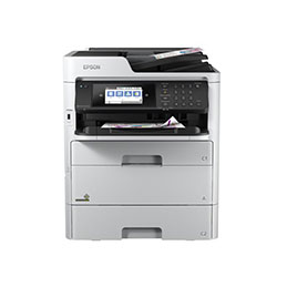Epson WorkForce Pro WF-C579RDTWF - Imprimante multifonctions - couleur - jet d'encre - 215.9 x 355.6 mm (original) - A4/Legal (support) - jusqu'à 22 ppm (copie) - jusqu'à 34 ppm (impression) - 830 feuilles - 33.6 Kbits/s - USB 2.0, Gigabit LAN, Bluetooth, Wi-Fi(n), hôte USB 2.0 (photo)