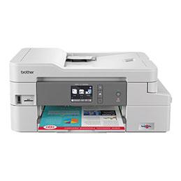 Brother DCP-J1100DW - Imprimante multifonctions - couleur - jet d'encre - Legal (216 x 356 mm) (original) - A4/Letter (support) - jusqu'à 6 ppm (copie) - jusqu'à 12 ipm (impression) - 150 feuilles - USB 2.0, Wi-Fi(n), hô... (photo)