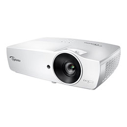 Optoma W461 - Projecteur DLP - portable - 3D - 5000 lumens - WXGA (1280 x 800) - 16:10 - 720p