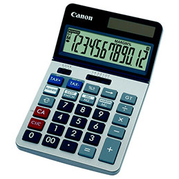 Calculatrice de bureau professionnelle Canon KS-1220TSG - 12 chiffres (photo)