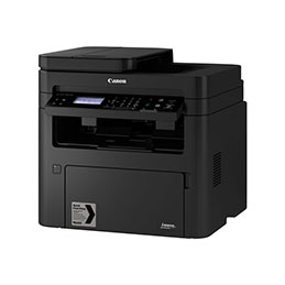 Canon i-SENSYS MF264dw - Imprimante multifonctions - Noir et blanc - laser - A4 (210 x 297 mm), Legal (216 x 356 mm) (original) - A4/Legal (support) - jusqu'à 28 ppm (copie) - jusqu'à 28 ppm (impression) - 250 feuilles - USB 2.0, ... (photo)