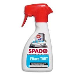 Spray Spado efface tout - élimine colle, encre, peinture et camboui pour toutes surfaces lavables - spray de 250 ml (photo)