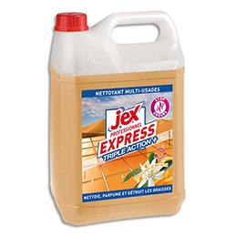 Nettoyant multi-usages dégraissant Jex Express - destructeur d'odeurs - parfum douceur d'orient - bidon de 5L (photo)