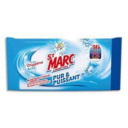Lingettes multi-usages Saint-Marc Pur et Puissant à l'oxygène actif - paquet de 36 lingettes (photo)