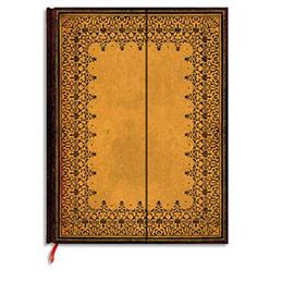 Carnet Paperblanks - reliure classique à l'ancienne estampé - 13 x 18 cm - 144 pages - ligné