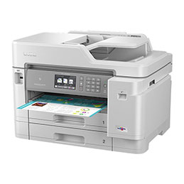 Brother MFC-J5945DW - Imprimante multifonctions - couleur - jet d'encre - A4 (210 x 297 mm), Legal (216 x 356 mm) (original) - A3/Ledger (support) - jusqu'à 15 ppm (copie) - jusqu'à 35 ppm (impression) - 600 feuilles - 33.6 K... (photo)