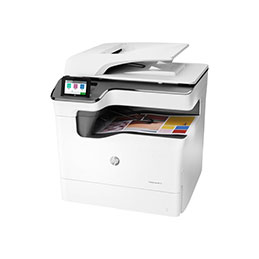 HP PageWide Color MFP 774dn - Imprimante multifonctions - couleur - large éventail de page - 297 x 864 mm (original) - A3/Ledger (support) - jusqu'à 35 ppm (copie) - jusqu'à 55 ppm (impression) - 650 feuilles - USB 2.0, Gigabit LAN, hôte USB 2.0 (photo)