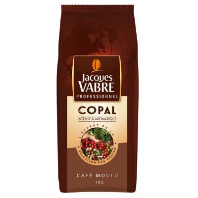 Café moulu Jacques Vabre Copal - intense et aromatique - paquet de 1 Kg