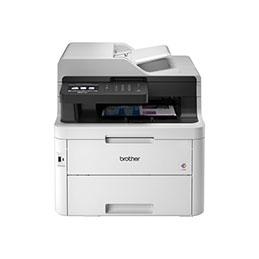 Brother MFC-L3750CDW - Imprimante multifonctions - couleur - LED - Legal (216 x 356 mm) (original) - A4/Legal (support) - jusqu'à 24 ppm (copie) - jusqu'à 24 ppm (impression) - 250 feuilles - 33.6 Kbits/s - USB 2.0, LAN, Wi-Fi(n),... (photo)