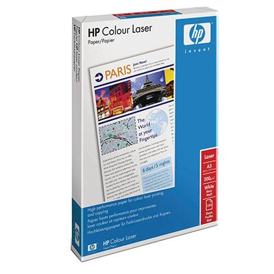 Papier A3 blanc 200g HP ColorChoice - ramette de 250 feuilles (photo)