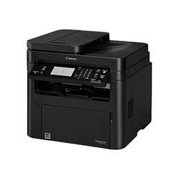 Canon i-SENSYS MF267dw - Imprimante multifonctions - Noir et blanc - laser - A4 (210 x 297 mm), Legal (216 x 356 mm) (original) - A4/Legal (support) - jusqu'à 28 ppm (copie) - jusqu'à 28 ppm (impression) - 250 feuilles - 33.6 Kbits/s - USB 2.0, LAN, Wi-Fi(n) (photo)